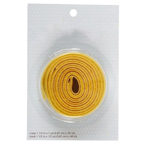 Hook and Loop Yellow with Small Blister Packing