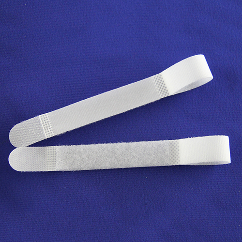Hook and Loop Cable Tie_White