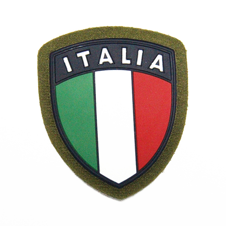 ITALIA PVC Patch with Velcro Hook