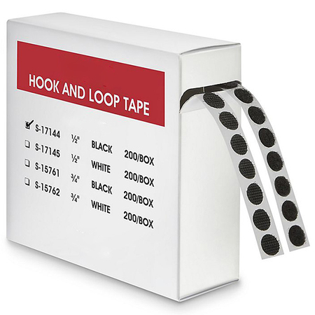 Hook and Loop Tape with Box Packing