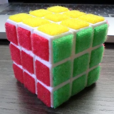 Hook and Loop Rubik's Cube
