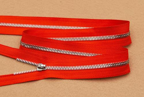 Metal Long Chain Zipper
